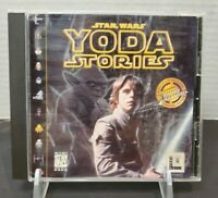 Star Wars Yoda Stories PC Game 1997 LucasArts Desktop Adventures Big Box CD-ROM
