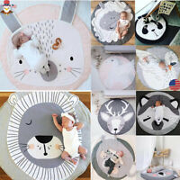 USA Soft Thick Cotton Cushion Baby Play Mat Infant Kids Cute Floor Rug Crawling