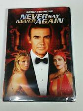 Never Say Never Again (DVD, 2000) WS Sean Connery, Kim Basinger BRAND NEW RARE