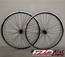 "Ruote bici CITY/TREKKING 28"" per pignoni a cassetta KOMET NERE, V.Brake"