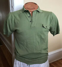 Vintage Pennys Towncraft Plus Mens Ban-Lon Sports Shirt Nylon