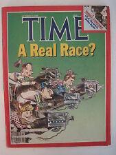 Time Magazine 10-22-1984. Ronald Reagan Campaign! Detroit Tigers World Series!