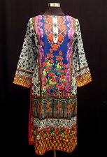 Pakistani Digital Print Lawn Kurta Stitched Indian Designer Kurti Women Tunic
