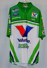 Travis Pastrana Valvoline NextGen 2013 Race Used NASCAR Pit Crew Shirt Size LARG