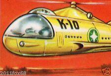 il mondo del futuro figurina 186 figurine lampo 1959 figurines lampo stickers gq