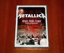 METALLICA ORGULLO PASION Y GLORIA LIVE IN MEXICO DVD ORIGINAL RELEASE 2009 New