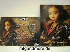 The Hunger Games Movie Trading Card - 1x #010 Rue