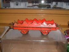 HORNBY O GAUGE BARREL WAGON IN USED ORIGINAL VINTAGE SCROLL DOWN 4 THE PHOTOS