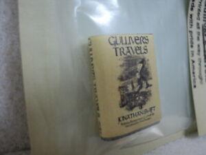 DOLLHOUSE BOOK- GULLIVER'S TRAVELS