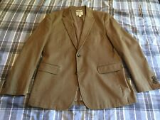 Men's Jos. A Bank 1905 Collection TailoredFit Canvas Soft Tan Jacket 42R