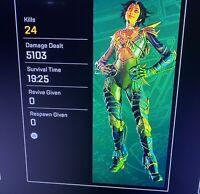 Horizon Apex Legends 20 Kill & 4K Badge Combo (Xbox / Play Station)
