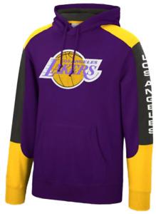 Los Angeles Lakers Mitchell & Ness NBA Fusion Fleece Hoody
