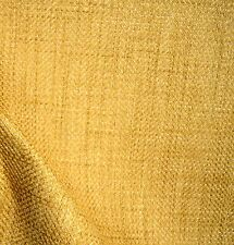 Gold Tweed Basket Weave Upholstery Fabric