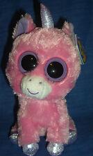 W-F-L TY Beanie Magic  Boos Einhorn pink  Boo´s Glubschi unicorn