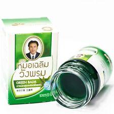 Wang Prom Wangphrom Thai Herbal Green Balm Massage Relief Pain Sprains 50g