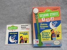 Sesame Street 123 NES Box and Manual (no game)