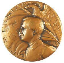 Italy PER L'UNITA bronze 50mm by Huguenin