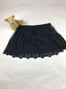Hollister girls elastic waist embroidered lace skirt SZ/M