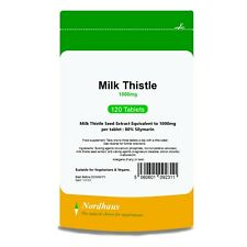 Milk Thistle 1000mg Tablets 120/ 365/ 500 (not capsules) Nordhaus