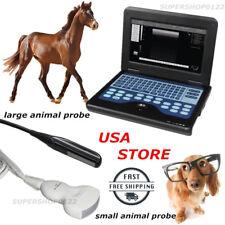 Veterinary Ultrasound Scanner Equipment, 2 Probes Best Deal Contec brand new USA
