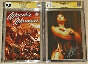 WONDER WOMAN #750 CGC 9.8 -SS Signed by Alex Ross Exclusive A&B Signature Series