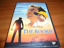 The Rookie (DVD, 2002, Full Frame) Dennis Quaid  Disney Used