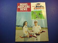 Model Airplane News November 1969 With New Radio Control Speed & Sport! VTO