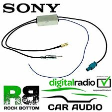 Sony DSX-A300DAB Car Radio DAB SMB Amplified Aerial Antenna Splitter CT27AA152