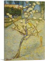 ARTCANVAS Small Pear Tree in Blossom 1888 Canvas Art Print by Vincent Van Gogh