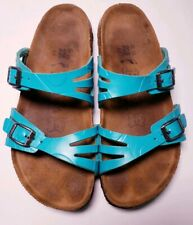 Birki's By Birkenstock Women's Granada Turquoise Sandals! Size 4