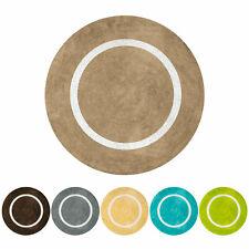 MOON | Tappeto rotondo in microfibra e cotone, colori assortiti. Olivo.shop
