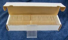 Case of 38 NEW BASEBALL Trading CARD HOLDERS in Storage Box 10 Cards per Holder