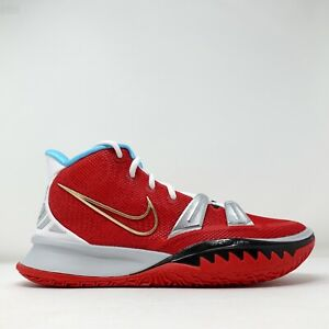 Nike Kyrie 7 NBY Red White Blue Mens Sneakers DA7567 991 Size 8
