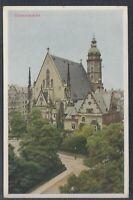45810) Naturfarben AK Leipzig Thomaskirche ca. 1935