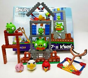 K'NEX Angry Birds Building Set Mission May'Ham Play Set - Incomplete - See Desc.