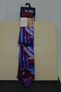 "NEW J.GARCIA COLLECTOR'S EDITION Men's Tie & Pocket Square ""Curves & Lines"""