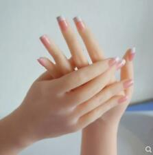 Womens Show Dummy Single Hand Cosplay Display Fingers Silica Gel Bendable Hai12