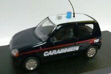 GIOCHER 1:43 AUTO DIE CAST FIAT 600 CARABINIERI  MADE IN ITALY    ART F600/C