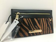 River Island zebra Beige print slim purse NEW WITH TAGS