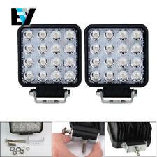 4inch 96W Led Work Light Bar Combo Boat Jeep Fog Driving Lamp Off-road 4WD 2X