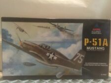 Accurate Miniatures 1/48 Model Airplane Kit P-51a Mustang 3402