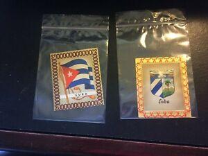 1936 AURELIA OLYMPIC FLAG CIGARETTE CARDS, 1936 BERLIN GAMES, CUBA