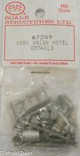 SS Ltd. HO #7249 (1880 Union Hotel Details) (Cast Metal)