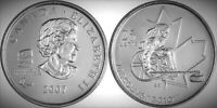 2007 Canada Wheelchair Curling 2010 Vancouver Olympics 25 Cents BU UNC Quarter!!