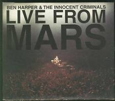 BEN HARPER Live From Mars DOUBLE CD IN MINI LP SLV FREEPOST WORLDWIDE SEALED