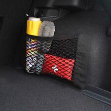 1PCS Black Nylon Auto Trunk Rear Cargo Organizer Storage Elastic Mesh Net Holder