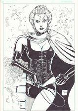 Goblin Black Queen (Madelyne Pryor) Commission - 2003 art by Ethan Van Sciver