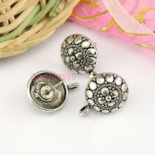 20Pcs Tibetan Silver Earring Findings 12x16mm KA4577