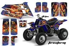 AMR Racing Yamaha Banshee 350 Decal Graphic Kit ATV Quad Wrap  87-05 FIRESTORM U