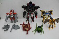 Transformers Beast Wars lot incomplete Optimus Primal Airazor K-9 Magnaboss